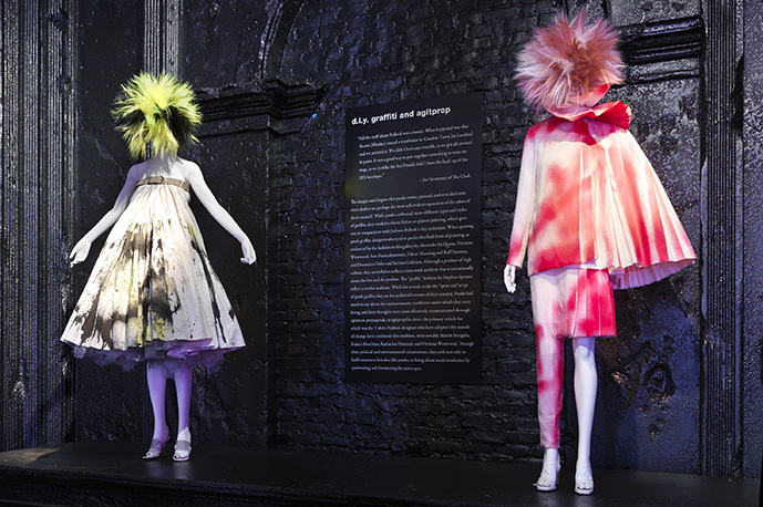 Punk Fashion is focus of Costume Institute Exhibition at The Metropolitan Museum of Art.
