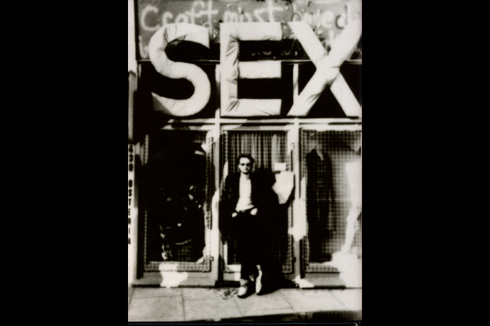 Vivienne Westwood´s original Sex Punk Shop in London.