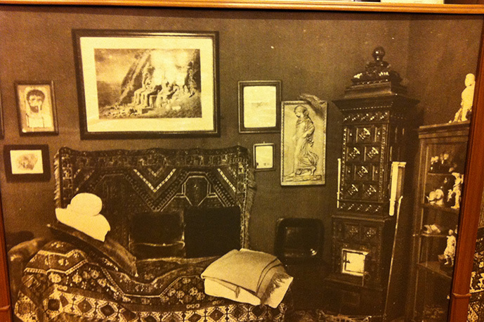 Sigmund Freud´s former medical practice in the house of Berggasse 19, Vienna.