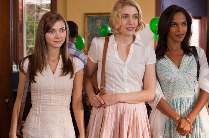 Outfits by Ciera Wells for the movie Damsels in Distress.