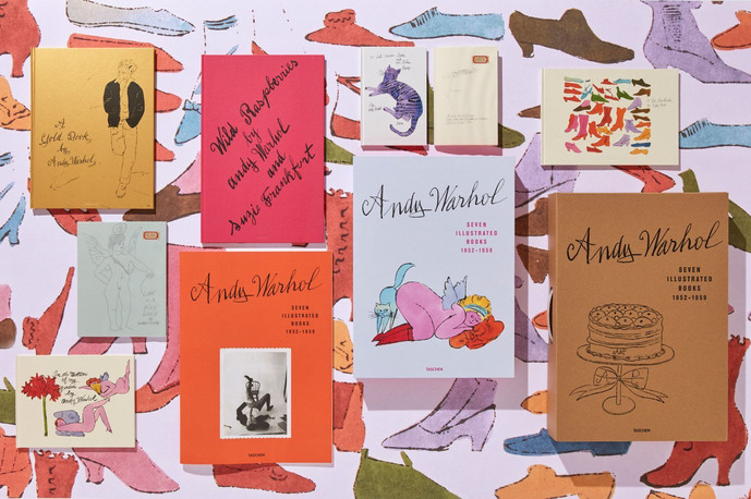 The King of Pop Art - ANDY´S Seven Books_taschen
