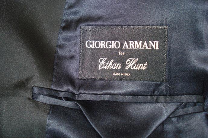 Giorgio Armani, Tom Cruise, Mission Impossible
