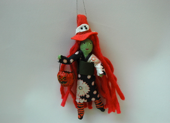 Spun Cotton Witch