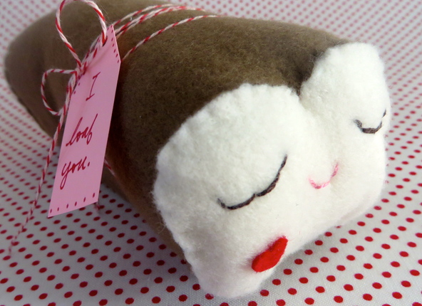 I Loaf You Plush Bread
