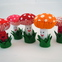 Happy Plush Mushrooms