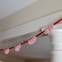 Red Ticking-Stripe Garland
