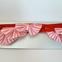 Red Ticking-Stripe Garland