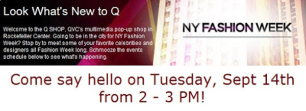 Qvc pop up with jl date