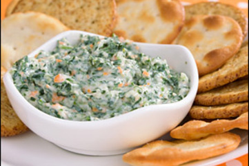 Spinach dip large