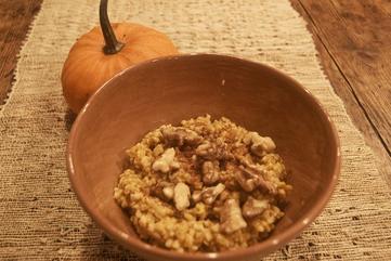 Dr. z   pumpkin oatmeal
