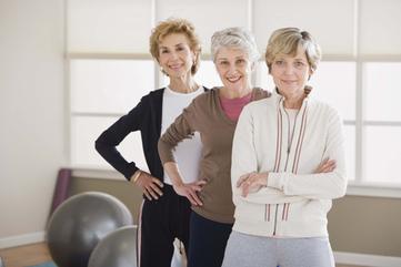 Senior fitness web