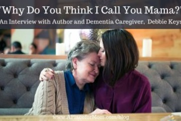 An interview with author and dementia caregiver debbie keys 300x192
