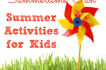 Summer activities for kids from my life and kids