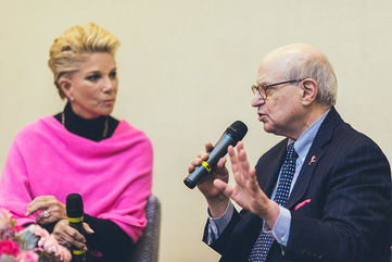 3. joan lunden  dr. larry norton