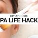 Cover diy at home spa life hacks