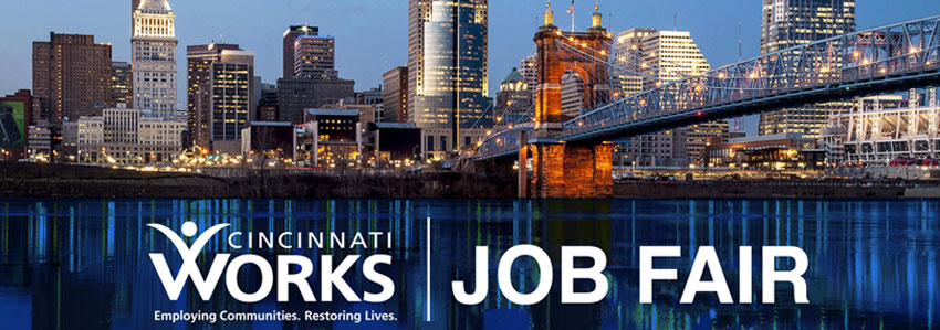 Cincinnati Works Job Fair September 2019