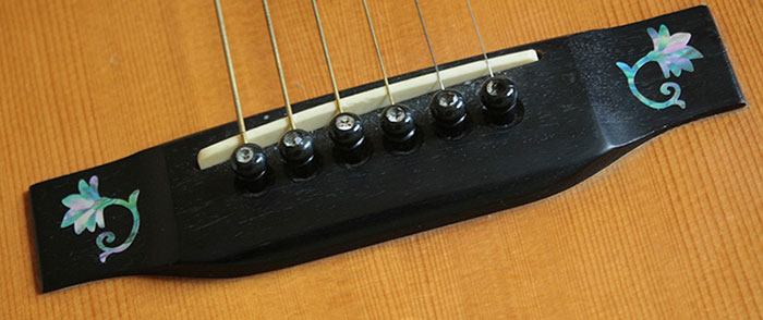 Guitar Bridge Inlay