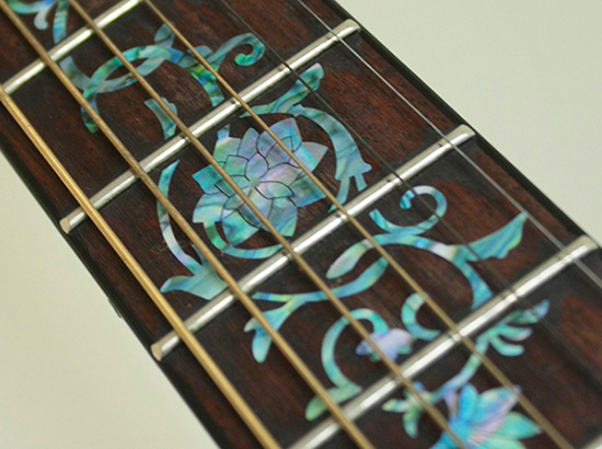 guitar fingerboard inlay