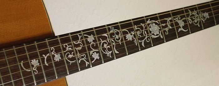 guitar fingerboard inlay