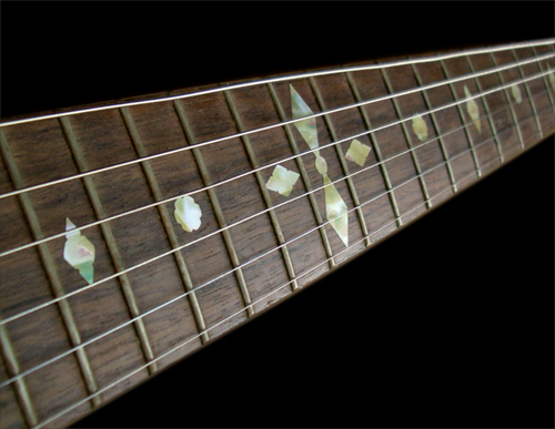 old banjo inlay fret mark