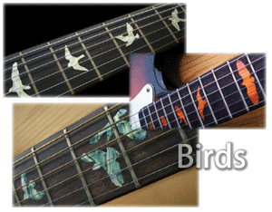 PRS Birds inlay