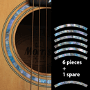 Rosette soundhole guitar