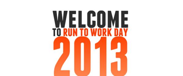 Run to work day 2013