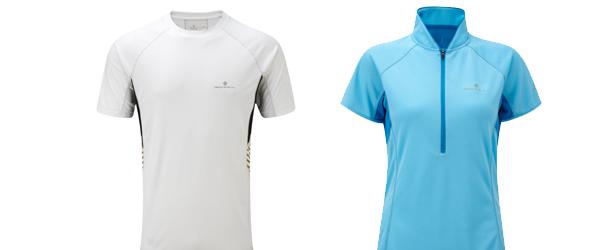 Ronhill running t-shirts