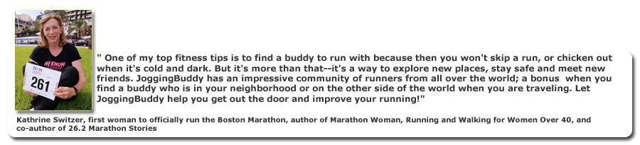 Katrine Switzer -  Marathon Woman 261