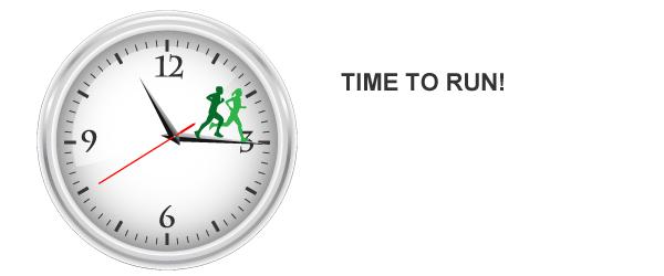 Time to start running