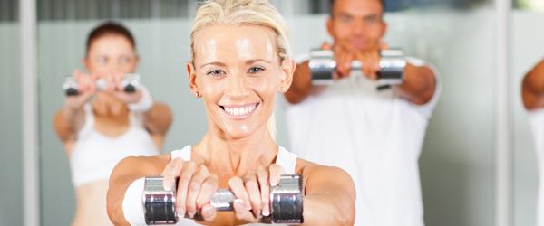 Running and weight training