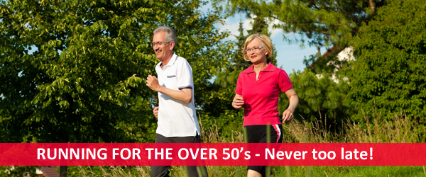Running for the over 50s -  it's never too late