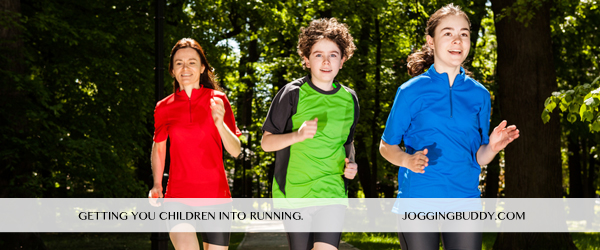 Tips on how to get your children into running