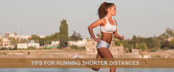 Running short distances