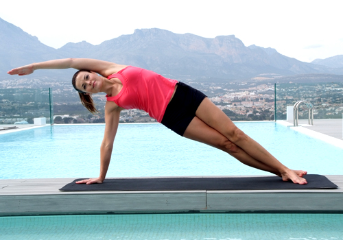 Pilates -  The Side Bend