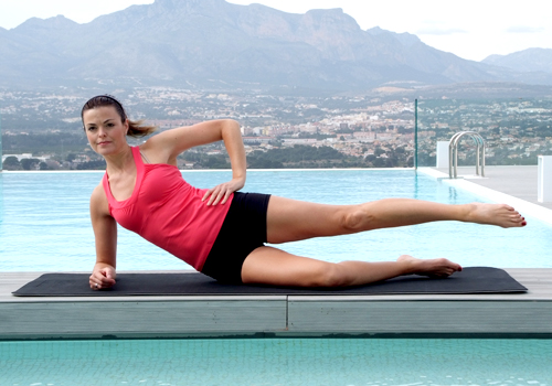 Pilates - Side lying leg series