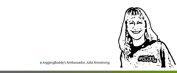 Julia Armstrong - JoggingBuddy's Ambassador