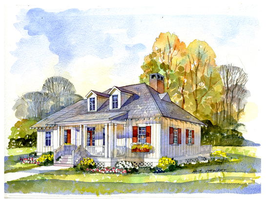 St. george cottage rendering