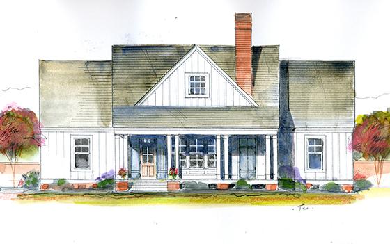 John tee architect for Magnolia house plans