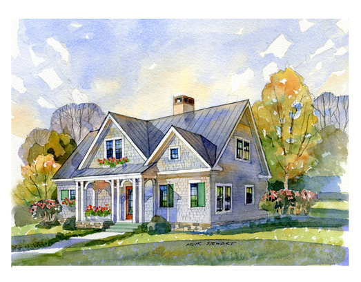 May isle cottage rendering