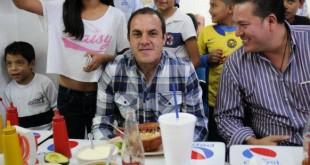 """VIDEO El 'Cuau' pide apoyo y aconseja """"comer frutas y verduras"""""""