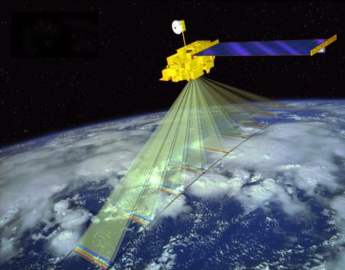 Foto 4. Satelite Terra NASA