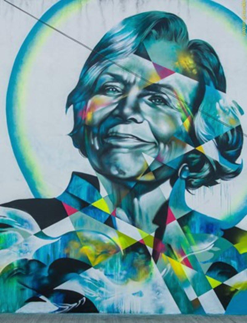 Foto 7 Mural Sylvia Earle Cozumel Walls