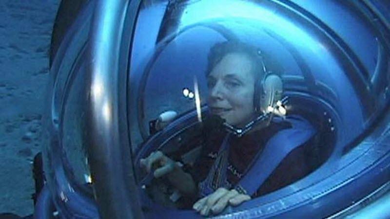 Foto 2 Sylvia Earle rumbo a las profundidades