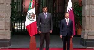 EPN y Emir de Qatar