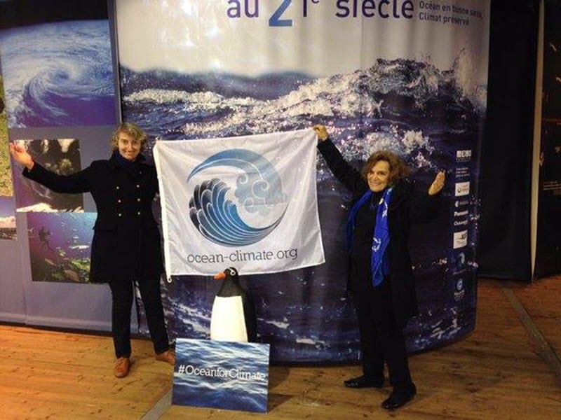 Foto 3 Sylvia earle en COP21