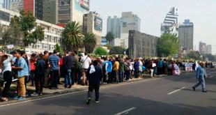 protesta vecinos Chapultepec