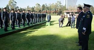 Osorio en Campo militar