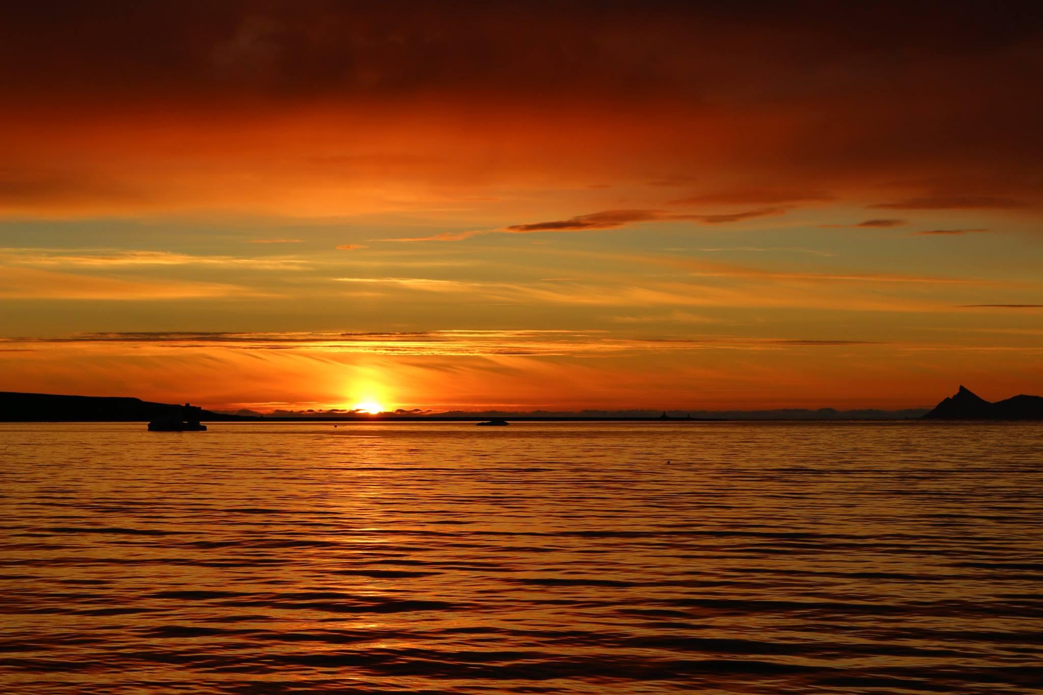 Foto3 Amanecer en el Artico
