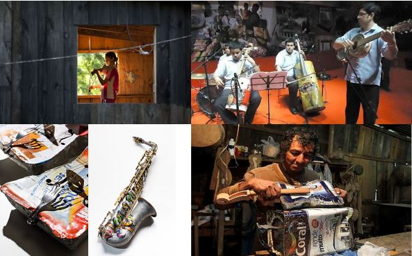 Foto 1 Orquesta de los Reciclados